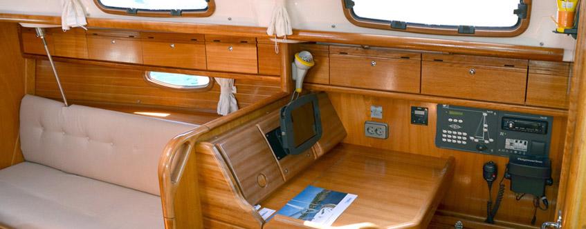 Arethusa yacht - Bavaria 33 Cruiser